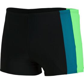 speedo Colourblock Aquashorts Men black/zest green/swell green
